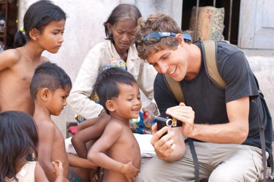 Seabury Hall alumnus Kyle Ellison co-founded the nonprofit organization to improve the lives of children living in Cambodia.