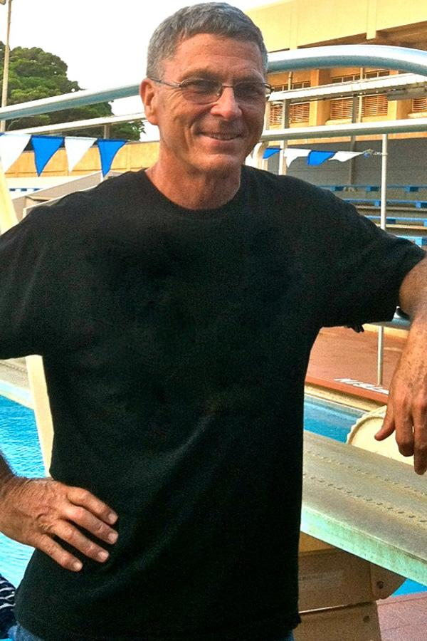 Dr. Dennis Rowe is the coach for the 2013-2014 Seabury Hall diving team.