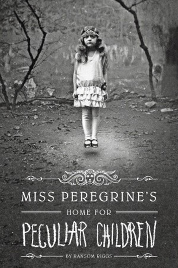 On our bookshelf: Miss Peregrines Home for Peculiar Children by Ransom Riggs
