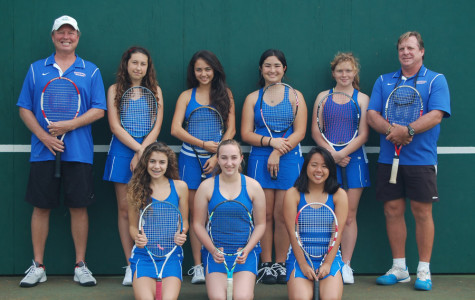 For the girls tennis co-team captains, it is all about sharing