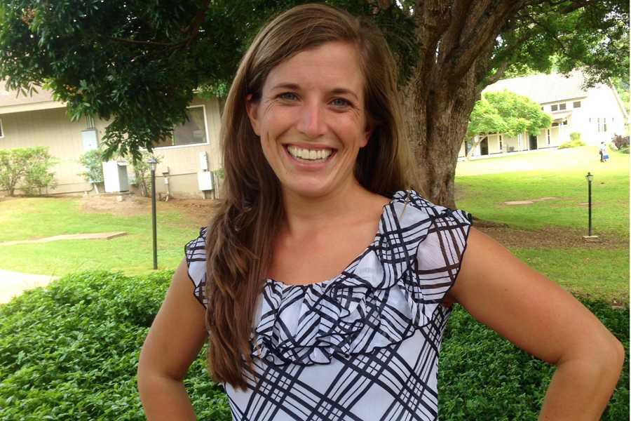 Molly Schad, Seabury Hall's new upper school and middle school chorus teacher, has fresh new ideas for the school's choirs.