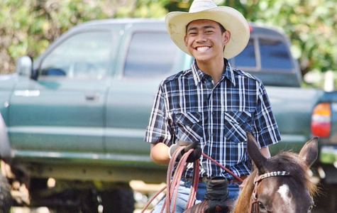 Rodeo star Trystin Hooper rides, ropes, and races his way to success