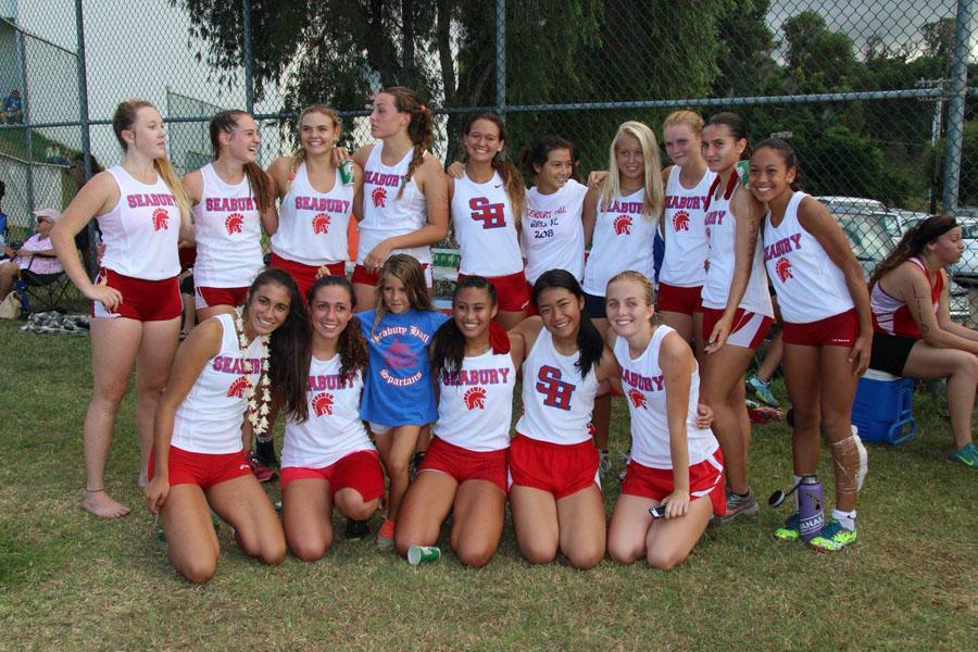 Seabury Halls girls cross country team has found success this year despite losing Dakota Grossman (14), one of the teams strongest runners last year.