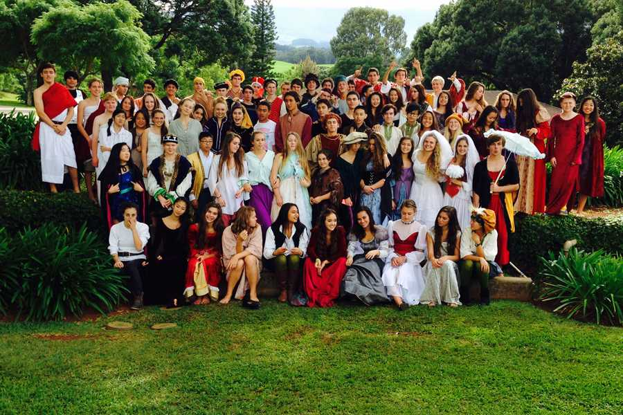 Seabury Hall's Class of 2017 performed scenes from a selection of William Shakespeare's plays on Friday, Dec. 5.