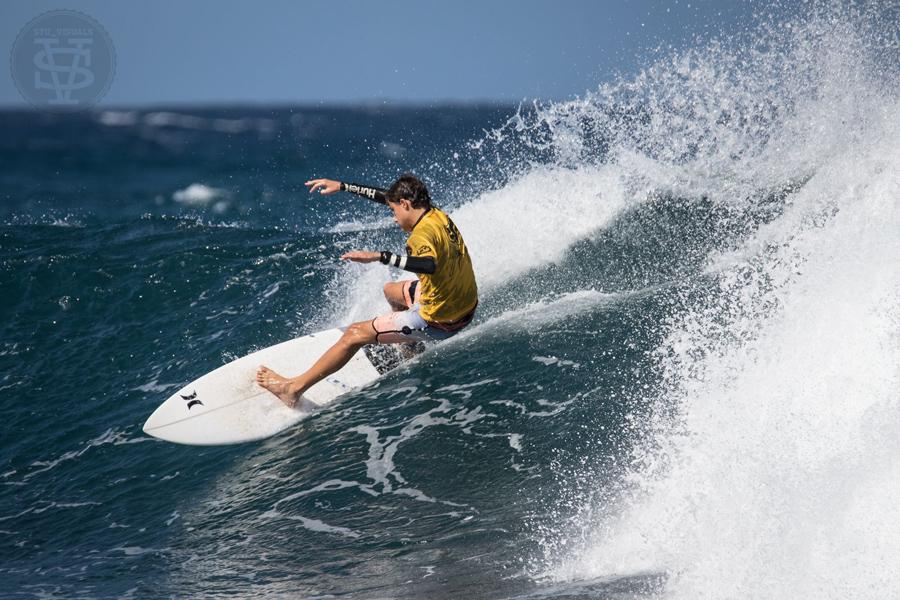 Seabury's surfing star: Ridge Lenny
