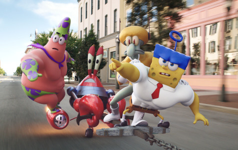 Review: The 'SpongeBob' movie provides a dose of nautical nonsense