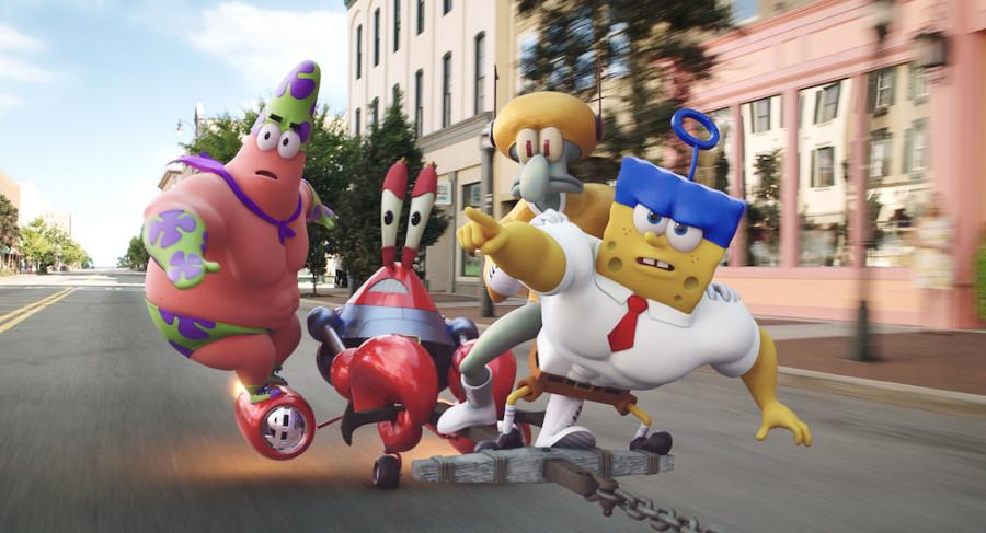 Review%3A+The+%27SpongeBob%27+movie+provides+a+dose+of+nautical+nonsense