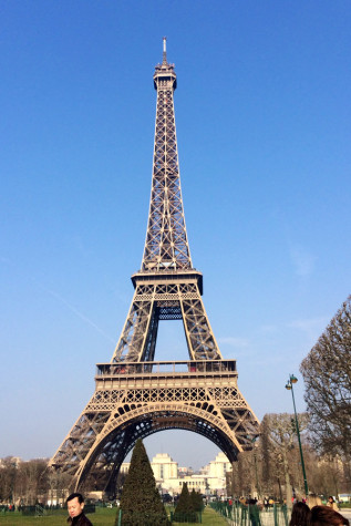 Regardless if it was their first time to France or their sixth time, the charms of Paris, including the Eiffel Tower, enchanted students on the tour.