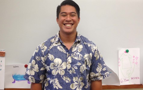 Earl Higa, Seabury Hall's new upper school Spanish teacher, encourages his students to feel comfortable speaking a foreign language in his class.