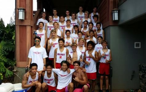 Seabury Hall's boys cross country team sprinted to the top this season