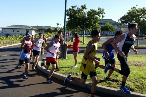 The Seabury Hall boys cross country team competed on the campus of Kamaehameha Schools Maui Campus during the MIL Meet #2 on Saturday, Sept. 12.