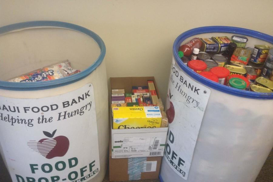 Seabury Hall's students and faculty are encouraged to donate nonperishable food items in support of the school's Thanksgiving food drive.