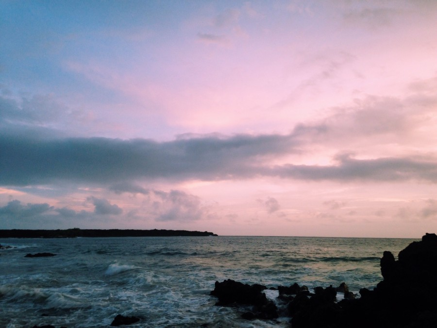 Looking for something to do over WInter BreaK? Consider watching the sunset one evening at La Perouse Bay.