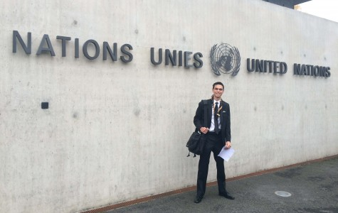 Junior Kalan Birnie travels abroad as a United Nations Youth Ambassador