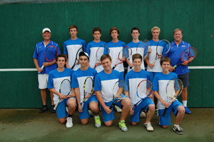 Thanks to strong captains and talented freshmen, Seabury Hall's boys tennis team has found success this season.