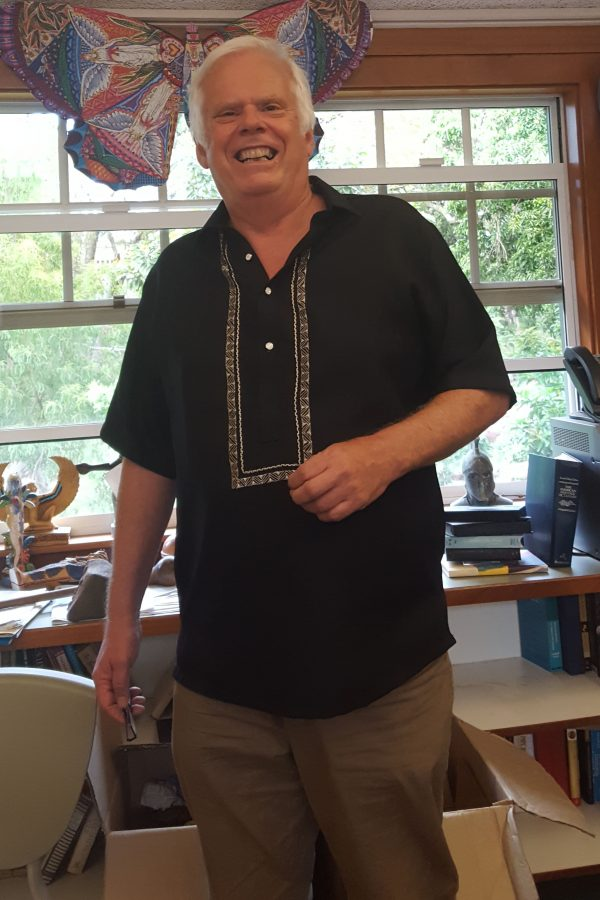 Religion and philosophy department chair John Dependahl was be departing Seabury Hall this year to work on his book on pilgrimages.