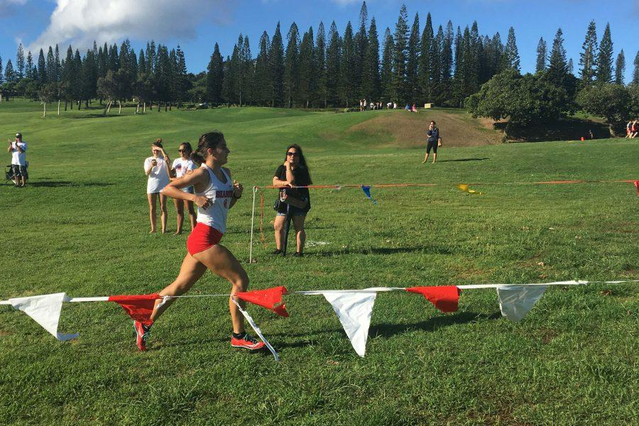 Veronica+Winham%2C+co-captain+of+Seabury+Hall%27s+girls+cross+country+team%2C+took+first+place+at+the+cross+country+meet+held+in+Kapalua+on+Saturday%2C+September+17.