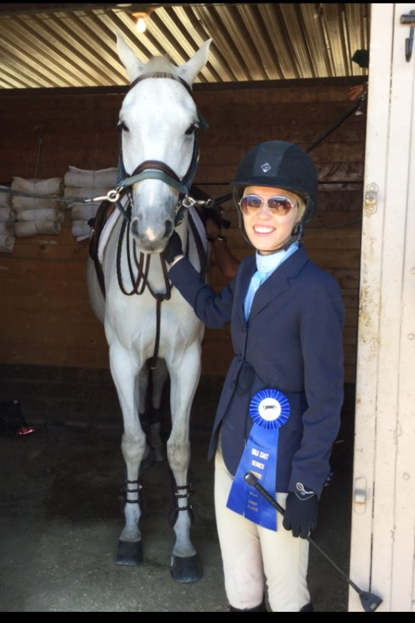 Seabury Hall junior Caroline Slate pursues her passion for equestrian sports by competing both on Maui and on the mainland. Slate will be heading to California this week to compete.