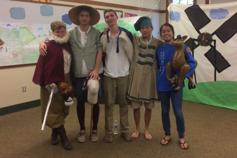 Seabury Hall seniors perform scenes from Cervantes