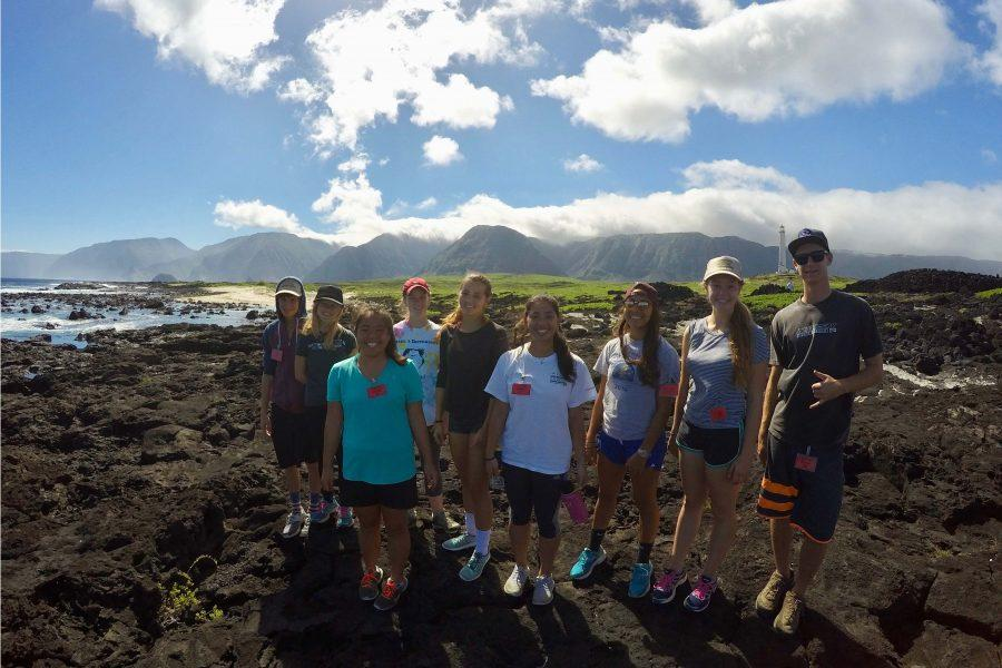 Seabury Hall students explore the Kalaupapa Peninsula on Molokai as part of the Kalaupapa Winterim.