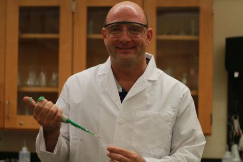 New science teacher, Mr. Steve Cornell, starts a spark in the Seabury Hall community