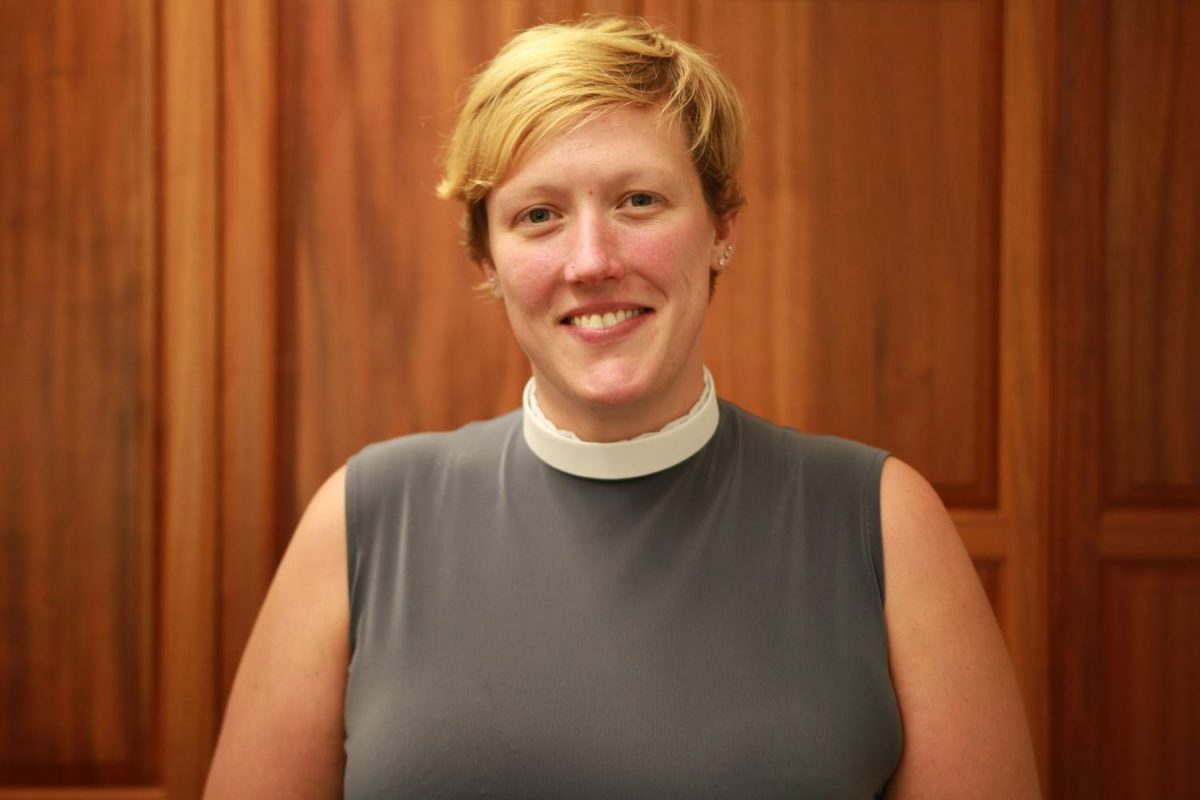 The woman who can do it all: Seabury Hall's new chaplain Reverend Sara Shisler Goff