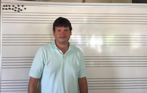 Seabury Hall's new music teacher Mr. Phillip Proctor starts the year on a high note
