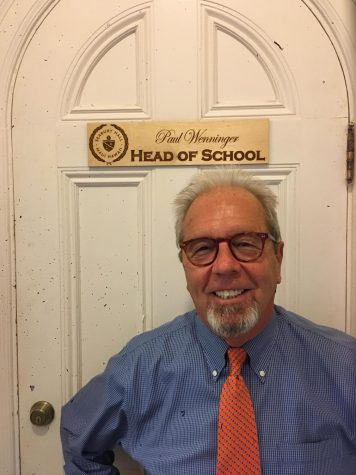Mr. Aaron Romano-Meade begins a new chapter in Seabury Hall's English department